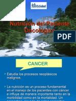 NUTRICION ONCOLOGICA