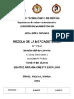 1.2 Línea, Dimensiones y Jerarquías Del Producto_CUESTA BEATRIZ