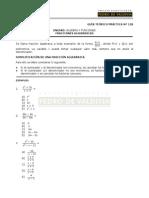 MA11B Fracciones Algebraicas
