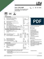 Current Transducer - LTS 6-NP