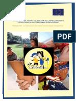 La educación de niños sordociegos congénitos