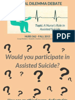 Ethical Dilemma Debate_ Assisted Suicide