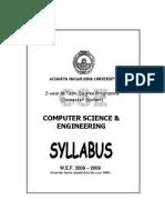MTech Syllabus 2008 09