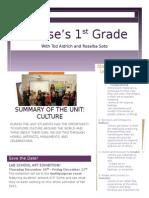 polaris 1st grade newsletter