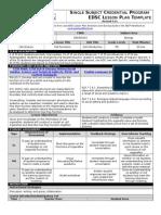 observation lesson plan 1  model