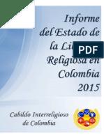 Informe Del Estado de La Libertad Religiosa en Colombia 2015