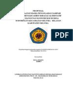 Proposal Kti Bayu Irawan (Kkn Unihaz)