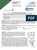 OBF2013 Fase 3 Nível 3