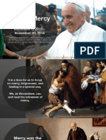 Year of Mercy for Vincentians