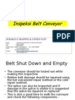 9.Inspeksi Belt Conveyor