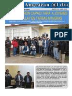 CFEM-Huarón capacitará a jóvenes de Huayllay en tareas mineras - Eusterio Huerta León