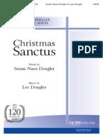 Christmas Sanctus - Lee Dangler