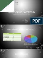 philosophic inventory