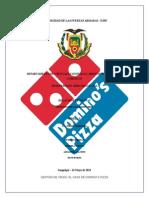 gestion de crisis domino´s pizza