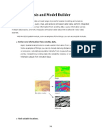 Exercise 5 - Spatial Analysis and Model Builder