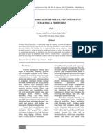 5 081032 Peranan Toksikologi Forensik Dalam Pengungkapan Tindak Pidana Pembunuhan - Henny Saida Flora, SH, M.hum,M .Kn . (Saintech Vol .05 No .01 Maret2013)