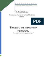 Psicología ambiental.