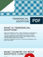 transracial adoption presentation