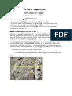 Descripcion litológica-estuctural