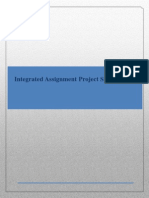 Integrated Assignment Project Specification