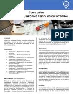 Curso Redacción de Informe Psicologico-Infor