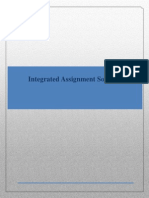 Integrated Assignment Solution