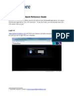 Remote Access Portal User Guide SSLVPN