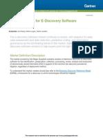 G06.2014 - Gartner Magic Quadrant for EDiscovery Software 2014
