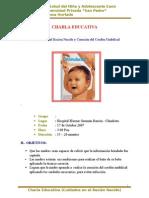 secion educativa Baño Del Recién Nacido y Curación Del Cordón Umbilical