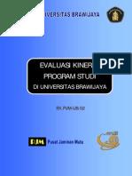 Contoh Laporan Evaluasi Kinerja Program Studi
