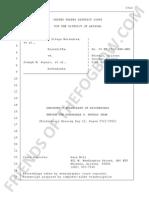 Melendres v. Arpaio #1466 Oct 9 2015 TRANSCRIPT - DAY 12 Evidentiary Hearing