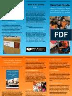 survival guide brochure