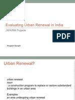 Evaluating Urban Renewal in India