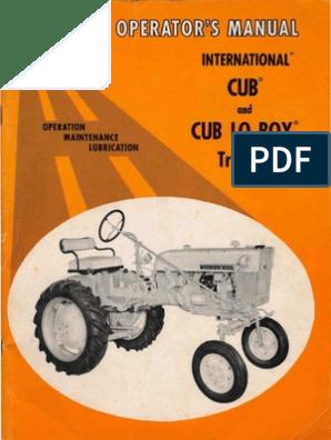 IH International Harvester 39 Roll Over Plow Owners Operators Manual