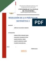Resolucion de La Practica n4 de Matematica III