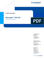 Epoxylite TSA 220 - TDS - 2008
