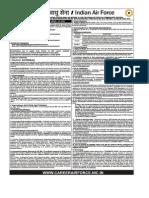 AFCAT 2016 Notification