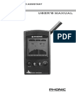 Phonic PAA2 User Manual