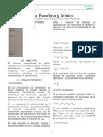 Práctica 6 Circuito Serie Paralelo y Mixto