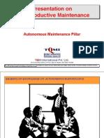 Autonomous Maint TRG