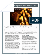 8 Ways to Jump Start Your Prayer Life w Links