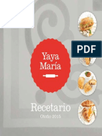 Recetario Yaya Mariax