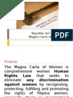 Presentation Magna Carta of Women