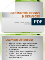 Lect4stud Designing Goods & Services