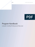 Certification Handbook - Linkedin