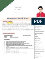 Muhammad Danish Khan - Finance Officer