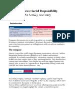 CSR an Amway Case Study