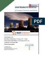 EDF Energy Company Review 2014