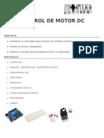 Control de Motor Dc ..