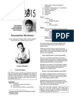 RUBEN BALANE SUCCESSION REVIEWER